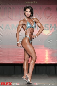 Alicia Coates - Figure - 2014 IFBB Tampa Pro