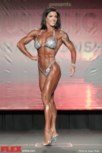 Christina Woodward - Figure - 2014 IFBB Tampa Pro