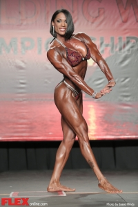 Jessica Gaines - Women's Physique - 2014 IFBB Tampa Pro