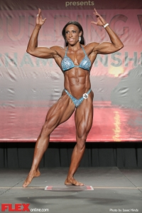 Asha Hadley - Women's Physique - 2014 IFBB Tampa Pro