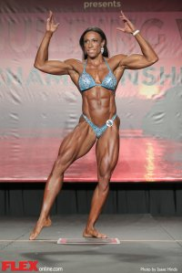 Asha Hadley - Women's Physique - 2014 IFBB Tampa Pro