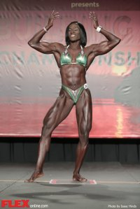 Candrea Judd Adams - Women's Physique - 2014 IFBB Tampa Pro