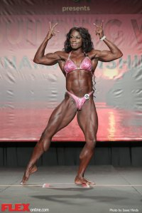 Tracy Hess - Women's Physique - 2014 IFBB Tampa Pro