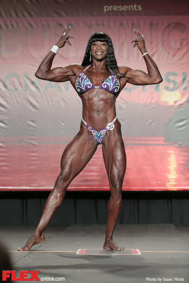 Gail Meadows - Women's Physique - 2014 IFBB Tampa Pro