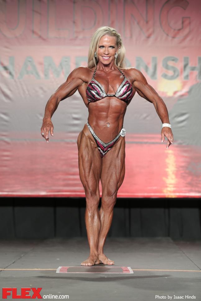 Vicki Nixon - Women's Physique - 2014 IFBB Tampa Pro