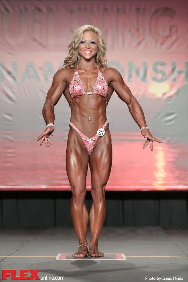 Danielle Reardon - Women's Physique - 2014 IFBB Tampa Pro