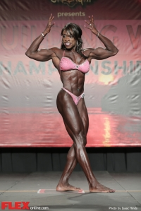 Olivia Terry - Women's Physique - 2014 IFBB Tampa Pro