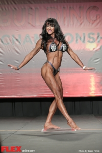 Melissa Tucker - Women's Physique - 2014 IFBB Tampa Pro