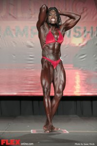 Roxanne Edwards - Women's Bodybuilding - 2014 IFBB Tampa Pro