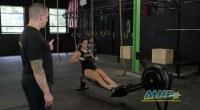 CrossFit Training - Rows