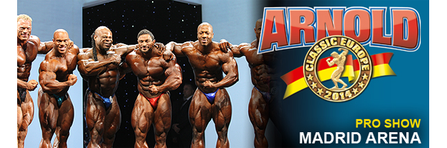 2014 Arnold Classic Europe