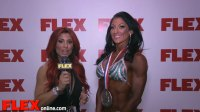 Candice Keene Takes 2nd at the 2014 Figure Olympia
