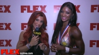 Candice Lewis Takes 3rd at the 2014 Figure Olympia