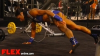 2014 Olympia Pump Up Room: Fitness!