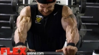 Flex Lewis Trains 2 Weeks Out from the 2014 Olympia