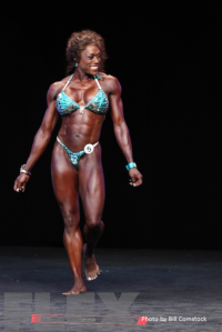2014 Olympia - La'Drissa Bonivel - Women's Physique