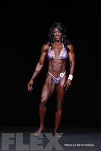 2014 Olympia - Tycie Coppett - Women's Physique