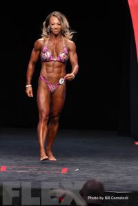 2014 Olympia - Nathalie Falk - Women's Physique