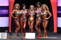 2014 Olympia - Awards - Women's Physique