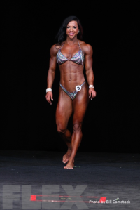 2014 Olympia - Samantha Hill - Women's Physique