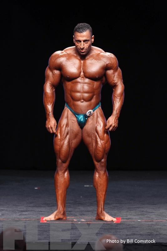 2014 Olympia - Ahmad Ahmad - Men 212