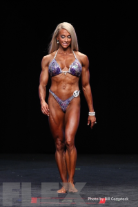 2014 Olympia - Mindi O'Brien - Women's Physique