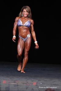 2014 Olympia - Leila Thompson - Women's Physique