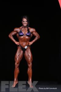 2014 Olympia - Sheila Bleck - Women's Bodybuilding
