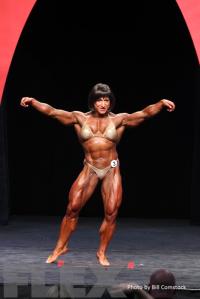 2014 Olympia - Christine Envall - Women's Bodybuilding