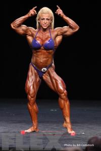 2014 Olympia - Anne Freitas - Women's Bodybuilding