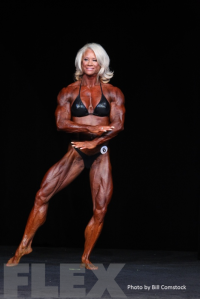 2014 Olympia - Lisa Giesbrecht - Women's Bodybuilding