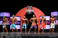 2014 Olympia Men's Physique Pre-Judging Call Out Report