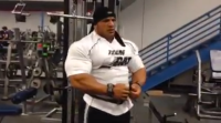 Big Ramy Trains Back One Week Before the 2014 Olympia