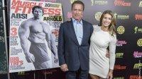 Arnold Schwarzenegger and Jen Widerstrom