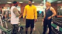 Eric the Trainer and Cam Jordan