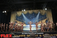 Comparisons - Women's Physique - 2014 IFBB Europa Phoenix Pro