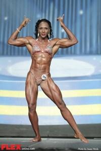 Antoinette Downie - 2014 IFBB Europa Phoenix Pro