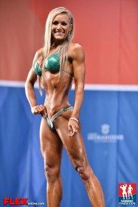 Sarah Back - Bikini - 2014 IFBB Nordic Pro