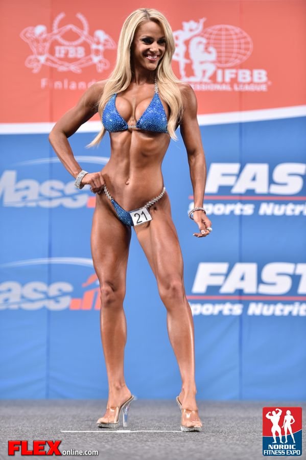 Tawna Eubanks - Bikini - 2014 IFBB Nordic Pro
