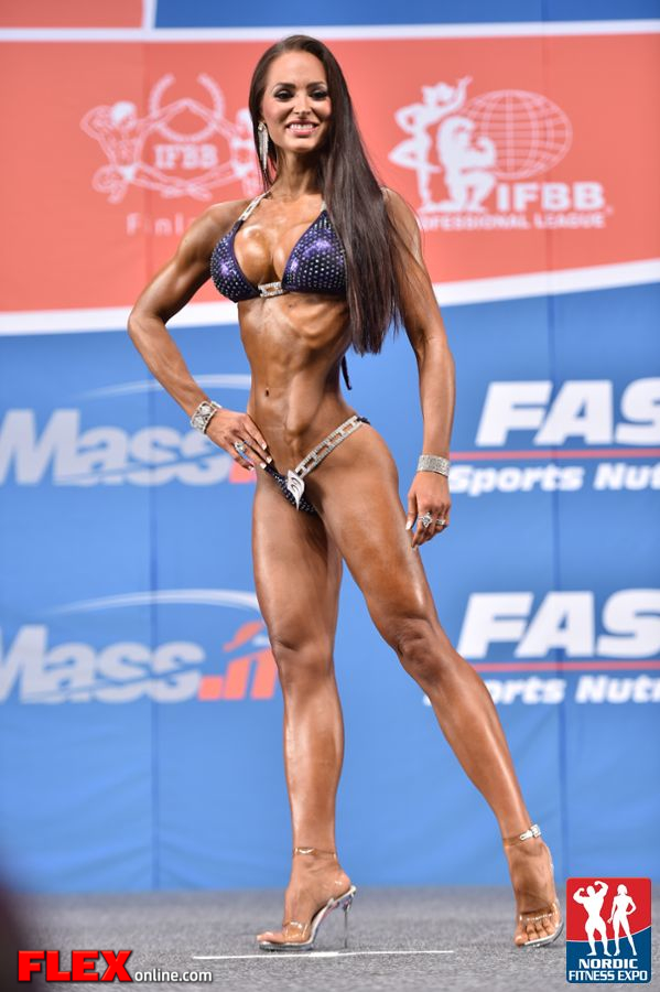 Christina Fjaere - Bikini - 2014 IFBB Nordic Pro