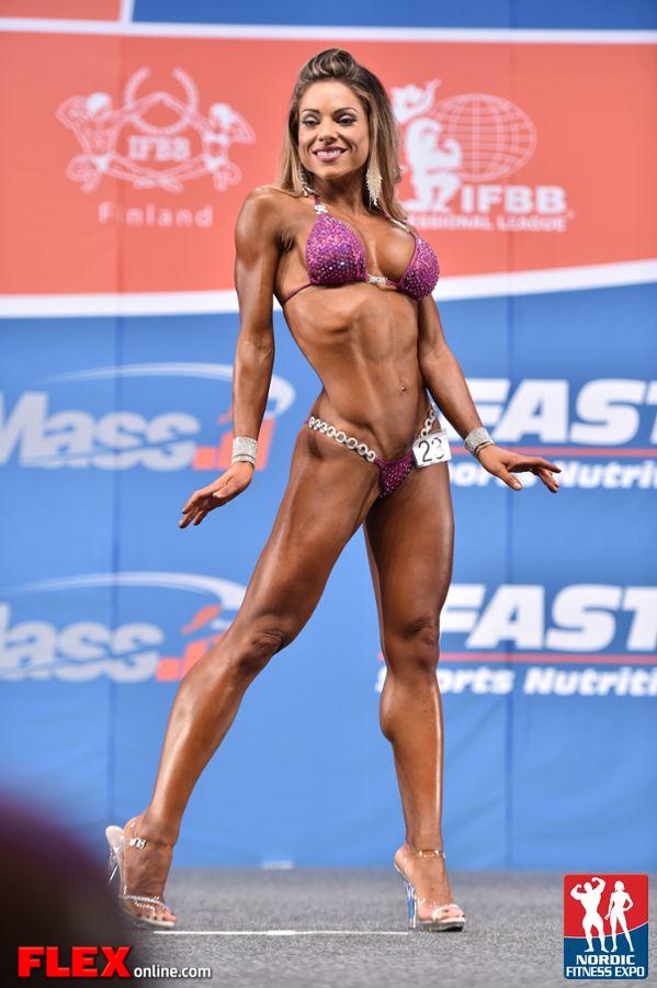 Aly Garcia - Bikini - 2014 IFBB Nordic Pro