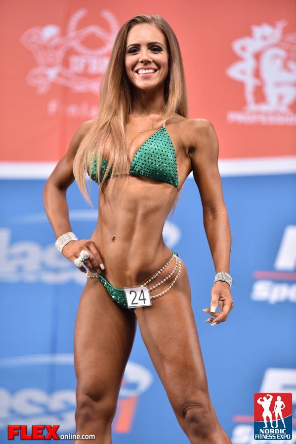 Margret Gnarr - Bikini - 2014 IFBB Nordic Pro