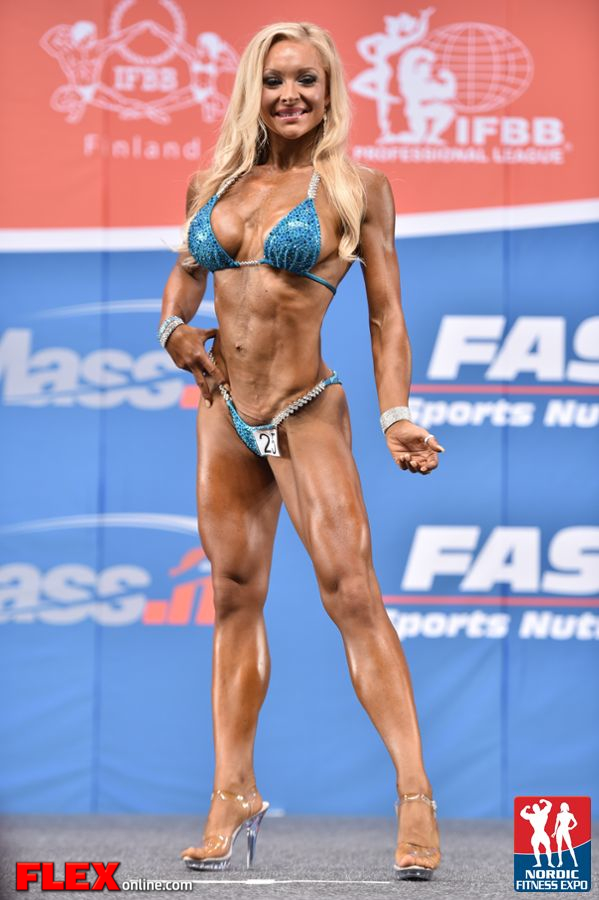 Anna Larsson - Bikini - 2014 IFBB Nordic Pro