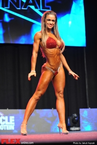 Valeria Ammirato - Bikini - 2014 IFBB Prague Pro