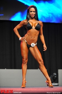 India Paulino - Bikini - 2014 IFBB Prague Pro