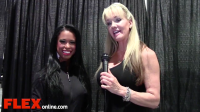 2014 Olympia: Shannon Dey Interviews India Paulino