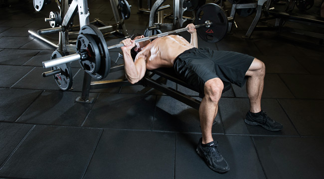 Chest Workout - Bench Press