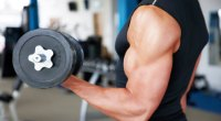 one-arm dumbbell curl