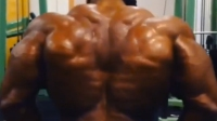 Kai Greene's Back is Pumped After Training