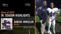 Rising Football Star, Darius Wheeler!